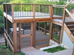Best Quality Cat Enclosures And Cat Tunnels Ideas 3 - meowlogy Diy Cat Enclosure, Outdoor Cat Enclosure, Deck Enclosures, Cat Habitat, Cat Cages, Cat Run, Cat Towers, Cat Playground, Cat Tunnel