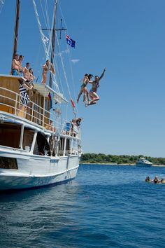 Party cruising in Croatia. Croatia is one of Europe's most attractive youth destinations.