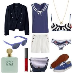 Little sailor, created by riapia on Polyvore