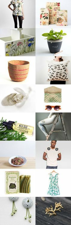 l'herborista by Gino and Rosa Rizzi on Etsy--Pinned with TreasuryPin.com