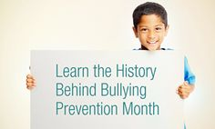 October is National Bullying Prevention Awareness Month | Blog | StopBullying.gov