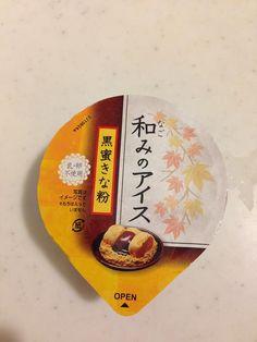 #akagi #icecream #japan #kinako #kuromitsu #nagomi no ice