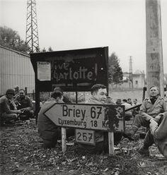 American troops, nr. Luxembourg, Lee Miller, 1944.