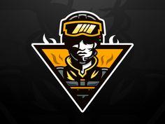 Ghost Company Mascot Logo by Mason Designs™ Team Logo Design, Graphic Design Services, Sport Design, Logo Inspiration, Icon Design, Design Art, Game Design, Graffiti, Esports Logo