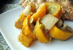 Recipe:  Squash and Onions with Brown Sugar