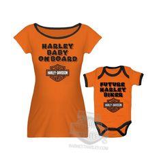 "Harley-Davidson Baby Mommy & Me B&S ""Harley Baby On Board"" Orange Maternity Set Harley-Davidson (Womens),http://www.amazon.com/dp/B00HGIJWI0/ref=cm_sw_r_pi_dp_Moj0sb0XE15H4Q8D"