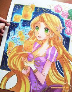 256 Meilleures Images Du Tableau Raiponce Rapunzel Cartoons Et