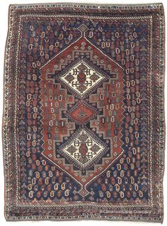 AFSHAR, Southeast Persian 4ft 3in x 5ft 8in Circa 192