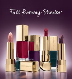 This season is all about nudes, berry and reds for example these_dolce-and-gabbana--2014 fall runway colors