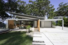 The New South Wales property features plenty of nooks and spaces, including a pool area.