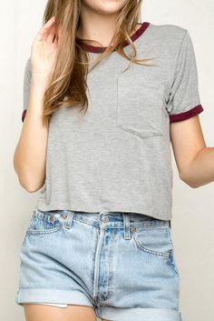 Brandy ♥ Melville | Arielle Top - Tops - Clothing ( I really like this top :)