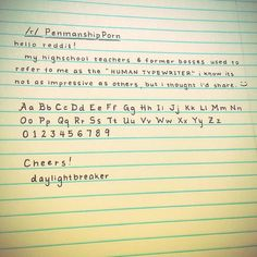 Image result for neat handwriting tumblr