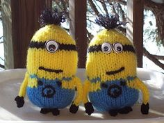 Knitted Minions?!?! YES!!