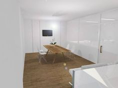 Meeting room | expansion of a pharmacy to create a meeting room and space for cosmetic applications | PS architectural studio | proposal 2014