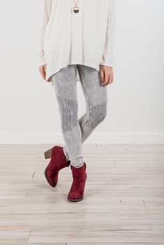 RubyClaire Boutique - Shirring Leggings | Grey, $32.00 (https://www.rubyclaireboutique.com/shirring-leggings-grey/)