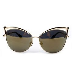 Brand Designer Oculos De Sol Feminino Cat Eye Sunglasses Women Vintage Metal Frame Sun Glasses Gafas De Sol YJ105 – sunglasss.net