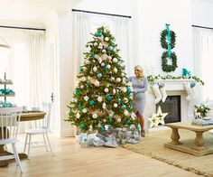 Home for the Holidays | Canadian Tire http://www.canadiantire.ca/inspiration/en/living/canvas/christmas-decor-collection/teal.html