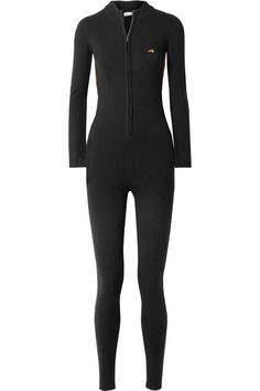 Bella Freud   Britt Lurex-trimmed wool-blend jumpsuit   NET-A-PORTER.COM Kpop Outfits, Cute Outfits, Fashion Outfits, Bella Freud, Black Jumpsuit, Piece Of Clothing, Catsuit, Black Wool, Fashion 2020