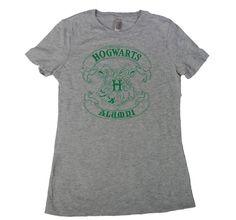 HOGWARTS ALUMNI T-SHIRT funny retro vintage harry potter sorcery wizard school womens tee small medium large xl 2X 272