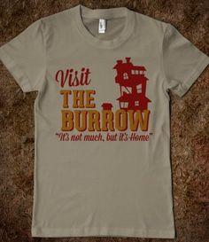 Visit The Burrow Tee...I want!