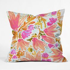 Orange Blossom In Pink | Art Products | DENY Designs Home Accessories
