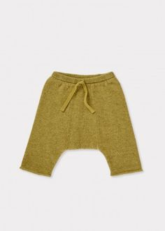 Basanite Baby Trouser, Lime, from Caramel Baby & Child