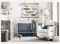 Restoration Hardware Nursery for Less