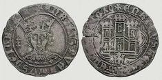 Cuartillo o 1/4 Real de vellón, Madrid, Enrique IV.
