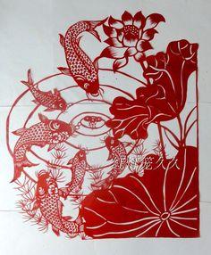 Paper-cutting-font-b-fish-b-font-64-55-handmade-paper-font-b-cut-b-font.jpg (800×970)