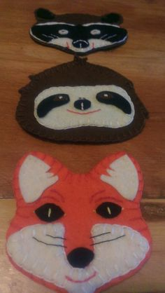 Free Felt Patterns for Cute Animals