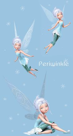 Periwinkle - I kinda want to make a crocheted Periwinkle sometime....but.  Disney FantasyDisney ImagesDisney FairiesFairy ...