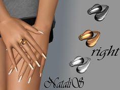 NataliS' Swirl polished ring FA-FE- RIGHT
