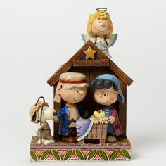 The Christmas Play-Peanuts Christmas Pageant Figurine