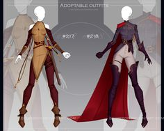 Cosplay Outfits, Anime Outfits, Cool Outfits, Drawing Anime Clothes, Dress Drawing, Super Hero Outfits, Hero Costumes, Anime Dress, Dress Sketches