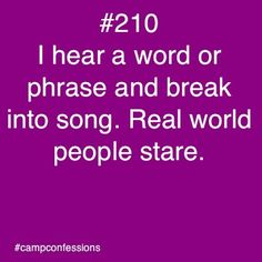 Confessions of campers, counselors, and life long outdoor enthusiasts. Camping Humor, Camping Life, Camp Quotes, Camp Songs, Sleepaway Camp, Girl Scout Camping, Church Camp, Camp Counselor, We Will Rock You