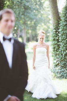 View entire slideshow: Real SMP Brides in Vera Wang on http://www.stylemepretty.com/collection/2571/