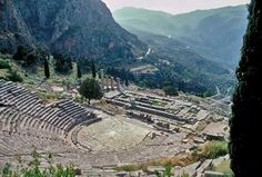 Delphi, one of the coolest places I've ever seen