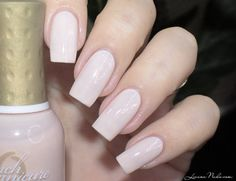 Orly - Sweet Blush via #lizananails Pretty nails with orly polish - bellashoot.com
