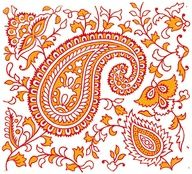 Indian Textitle Design w by peacay  - mylusciouslife.com - Luscious patterns