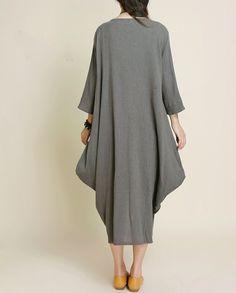 Lire attentivement classe Femmes robe de coton, matériau respirant, conception simple, conçu pour un usage quotidien dans toute season.Please avant d'acheter mesure de la taille.   mesure des...