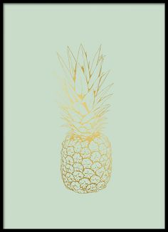 Pineapple gold, poster