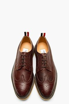 Normally I hate Thom Browne, right now I don't. Sock Shoes, Men's Shoes, Shoe Boots, Shoes Sneakers, Dress Shoes, Shoes Men, Gentleman Shoes, Best Shoes For Men, Peacoats