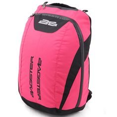 Bagster Funky Back Pack Pink Motorcycle Backpacks, Pink Motorcycle, Motorcycle Luggage, Motorcycle Outfit, North Face Backpack, Packing, Bags, Shopping, Bag Packaging