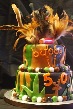 Hunter 50th Birthday Cake