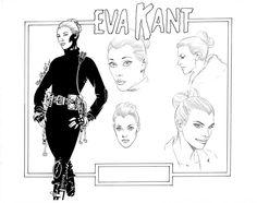 EVA KANT model sheet by ~PinoRinaldi on deviantART