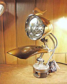 Flaming Headlight Lamp