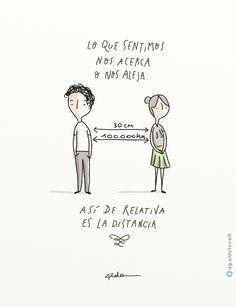 #verdades #distancia