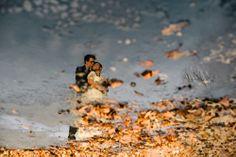 Creative reflection couple portrait by Ash Imagery | junebugweddings.com