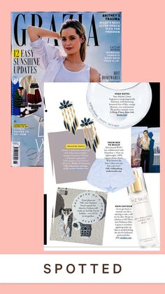 """Grazia Loved seeing our NEW Anti-Pollution Hydrating Mist featured in @graziauk this month! 💕 Described as a """"Skin Savour"""" the lightweight formula shields against premature ageing with full-spectrum pollution and blue light protection 🌨 @mzskinofficial #mzskin #drmaryamzamani #mzglow #antipollution #facemist #pollution #luxuryskincare #grazia #bluelight #hydration #skincare London Brands, Face Mist, Matches Fashion, Ageing, Designer Collection, Trip Planning, Trauma, Spectrum, Mists"""