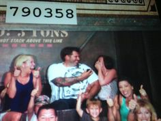 Our perfect engagement. Tower of Terror at Disneyland!